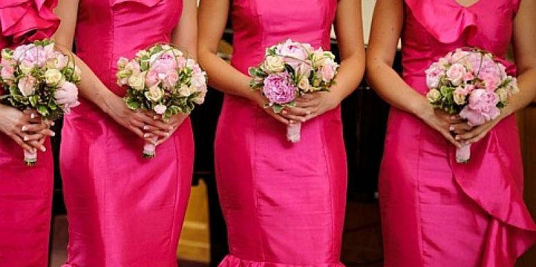 Weddings: Woman Has 80 Bridesmaids At Her Wedding
