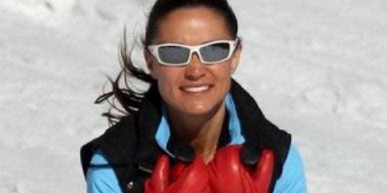 Pippa Middleton skiing