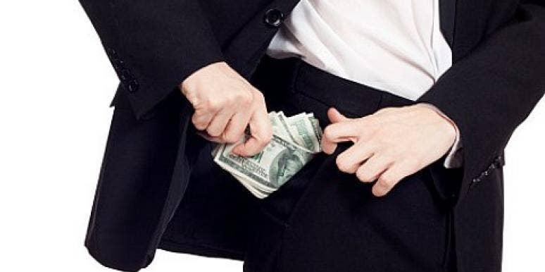 pocket hide cash man suit