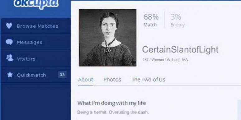 I Pretended To Be Emily Dickinson On OKCupid