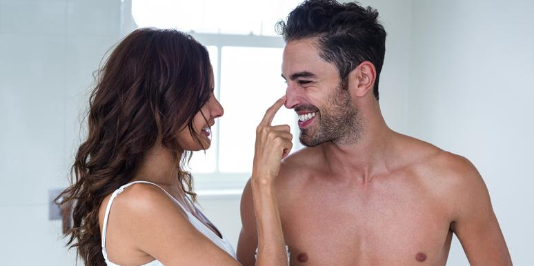 Why Wives Like Popping Husband's Zits