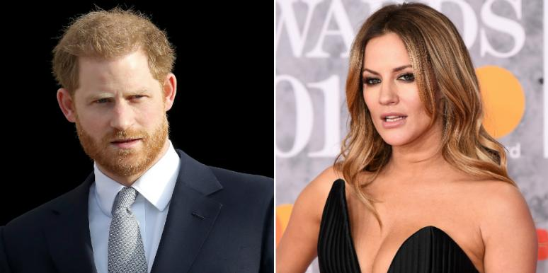6 Bizarre Details About Caroline Flack's Affair With Prince Harry