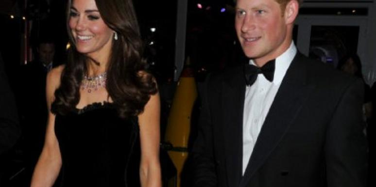 Kate Middleton & Prince Harry