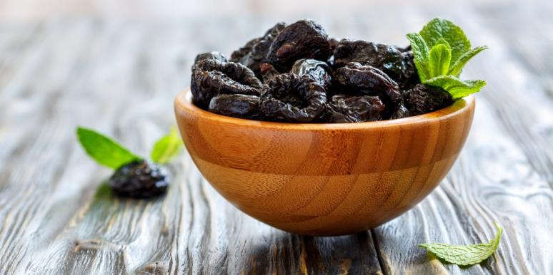 prunes in a bowl