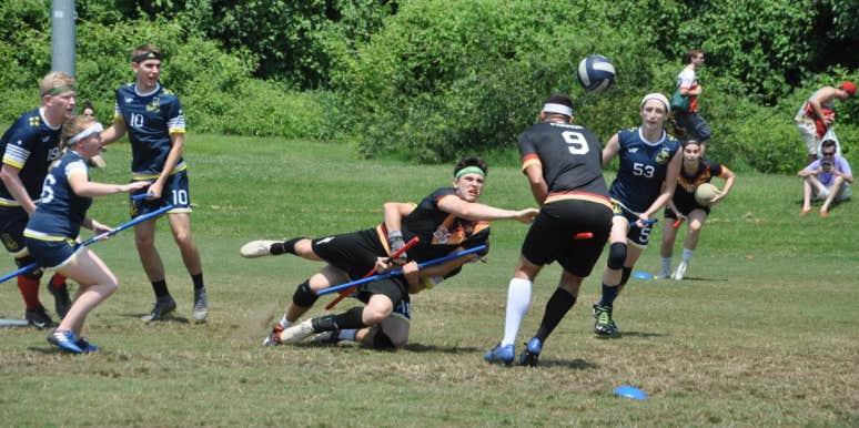 quidditch tackle quaffle bludger