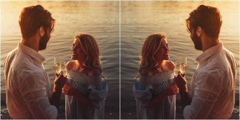 woman and man understanding infatuation vs love