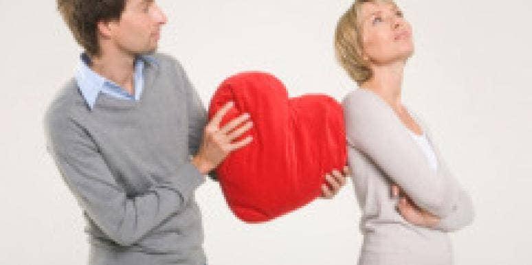 man woman heart