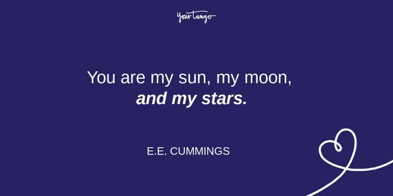 ee cumming relationship quote