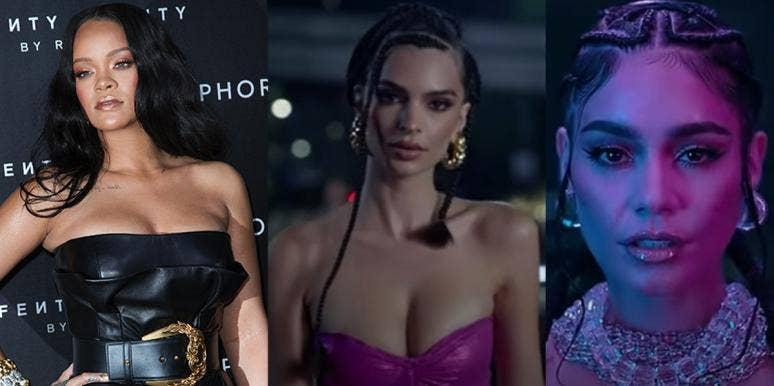 Rihanna, Emily Ratajkowski, Vanessa Hudgens