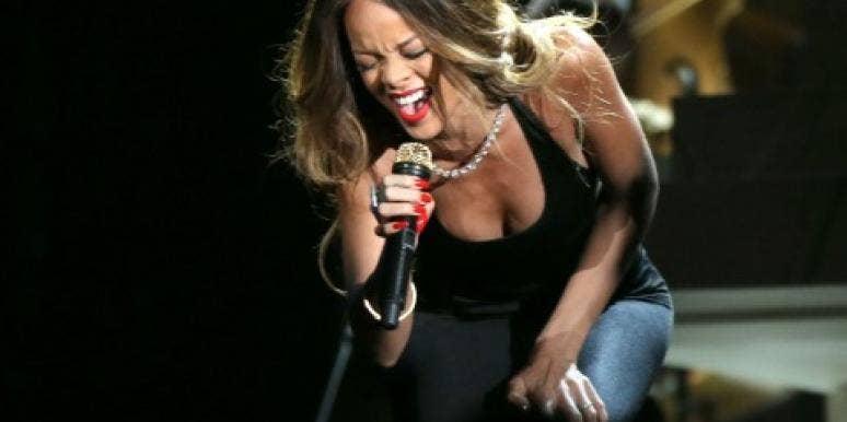 Rihanna at the Grammys