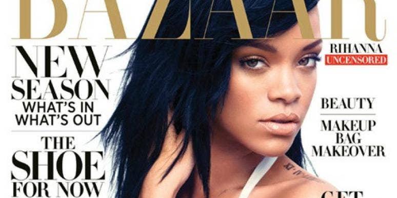 Rihanna harper's bazaar