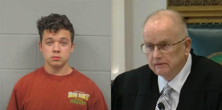 Kyle Rittenhouse and Judge Bruce Schroeder