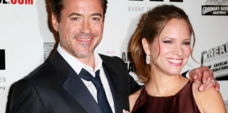 Robert Downey Jr. & Wife Susan Are Having A Baby Boy