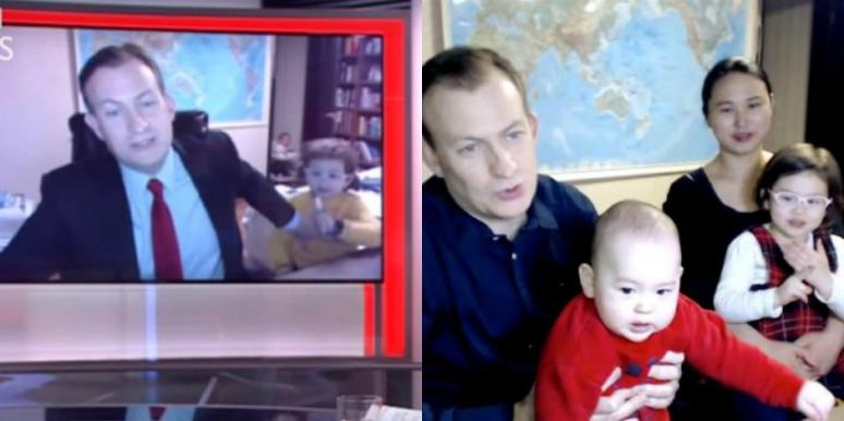 Robert Kelly Finally Discloses The Story Behind His Kids And Wife Photobombing His Skype Interview About South Korea On BBC