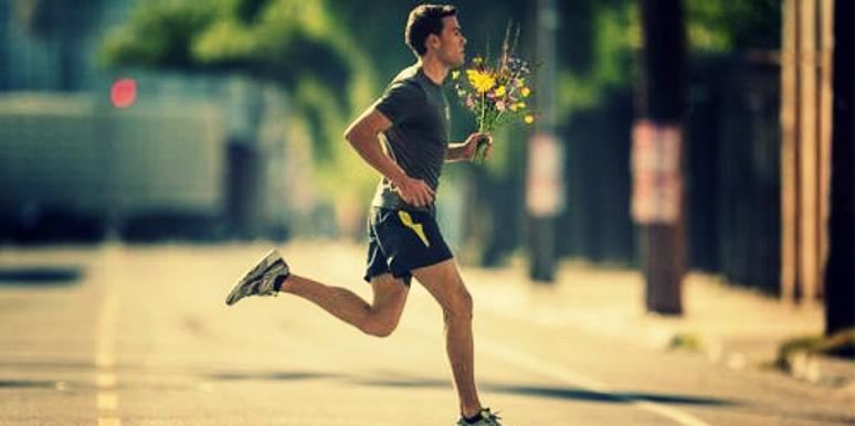 Dating is like running