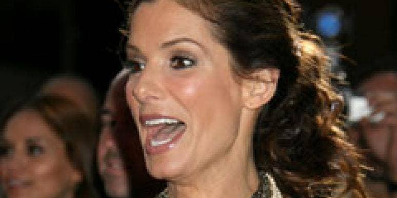 Sandra Bullock is happy with Jesse James