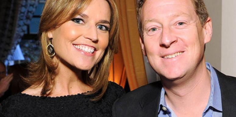 NBC 'Today' anchor Savannah Guthrie with new husband Michael (Mike) Feldman