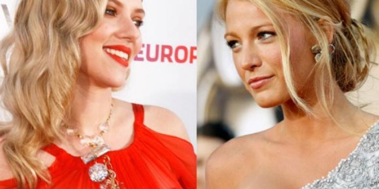 """A-List Links: Scarlett Johansson Is """"Pissed"""" At Blake Lively"""