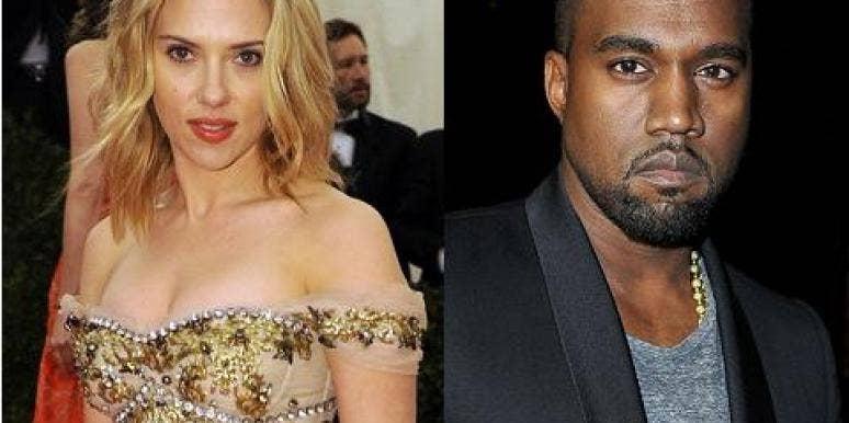 Scarlett Johansson & Kanye West