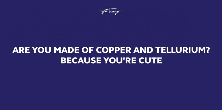 35 Science Pick Up Lines To Fuel The Chemistry You Have