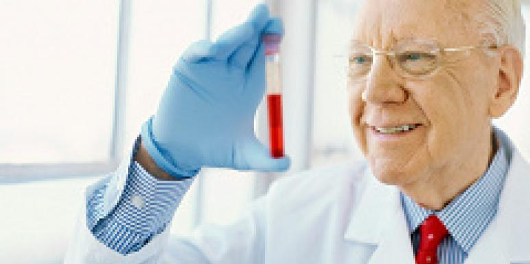 old man scientist
