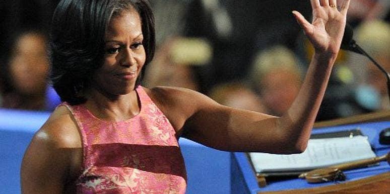 Michelle Obama dnc 2012