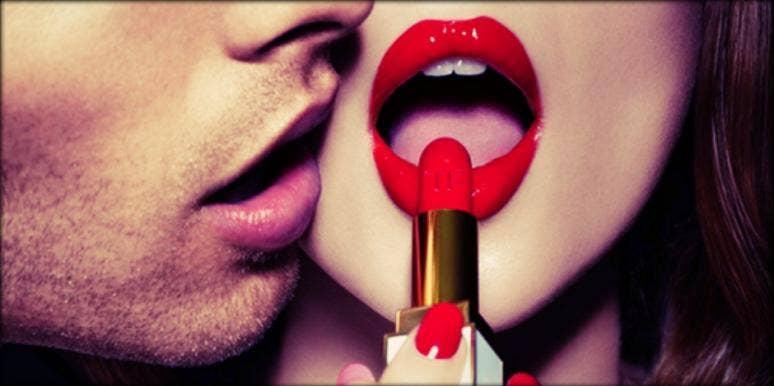 Lipstick blowjob pictures