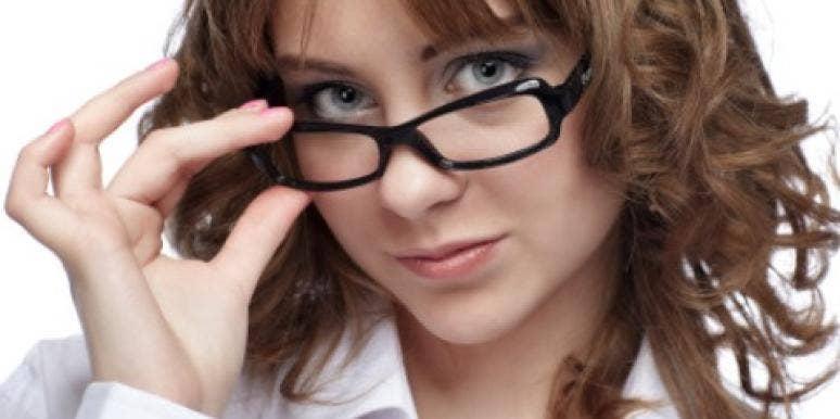 sexy nerd girl