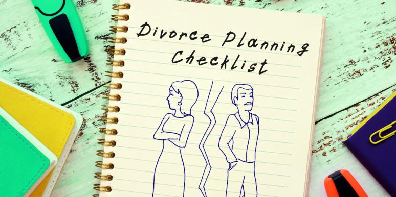 divorce moving out checklist