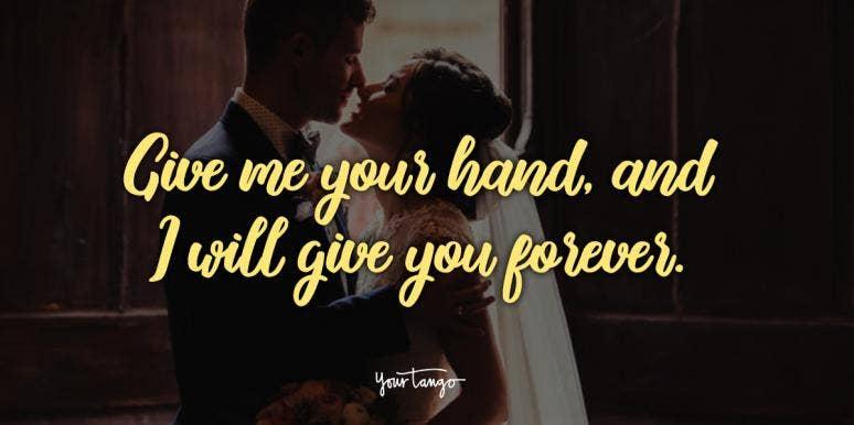 simple wedding vows