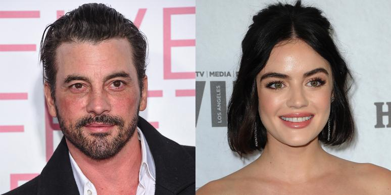 Skeet Ulrich and Lucy Hale