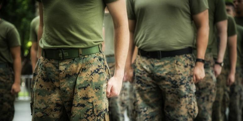 USMC basic training, a mom's grief