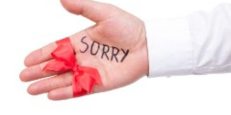 sorry hand ribbon red bow forgive forgiveness apology