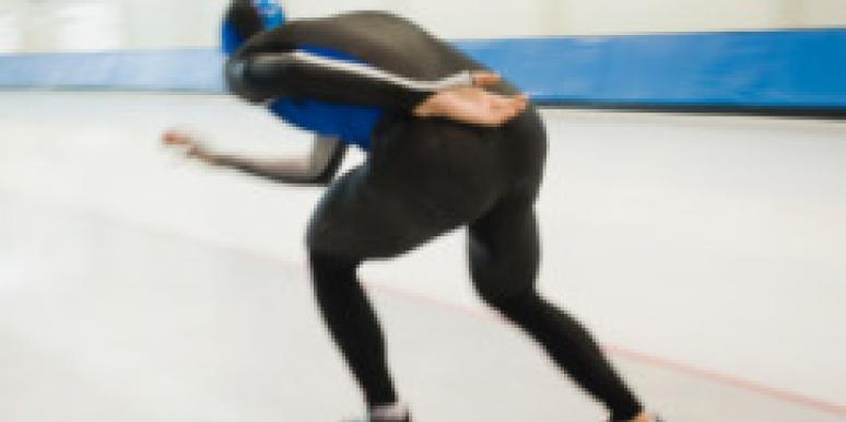 Male Speed Skater