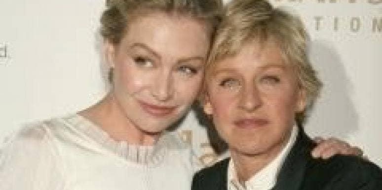Portia De Rossi and Ellen DeGeneres