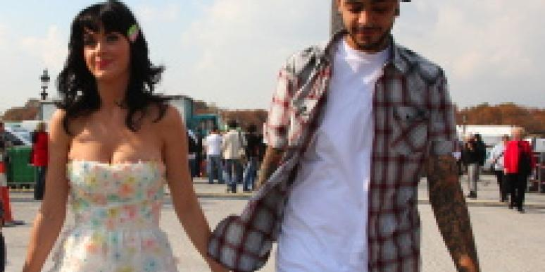 Katy Perry and Travis McCoy