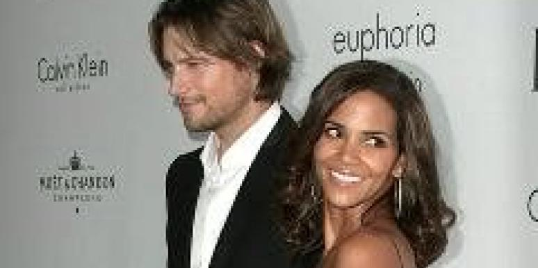 Gabriel Aubry and Halle Berry