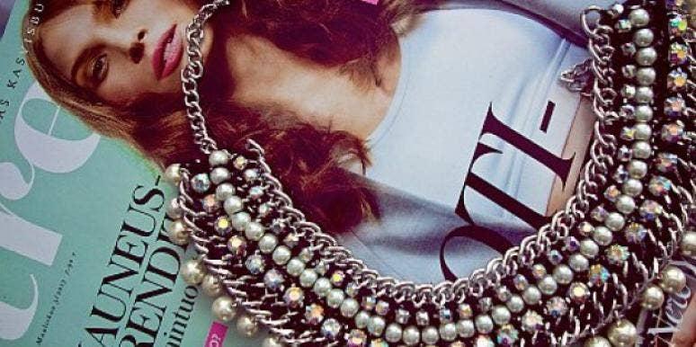 designer statement necklace