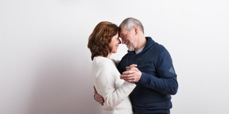 couple finding love later in life
