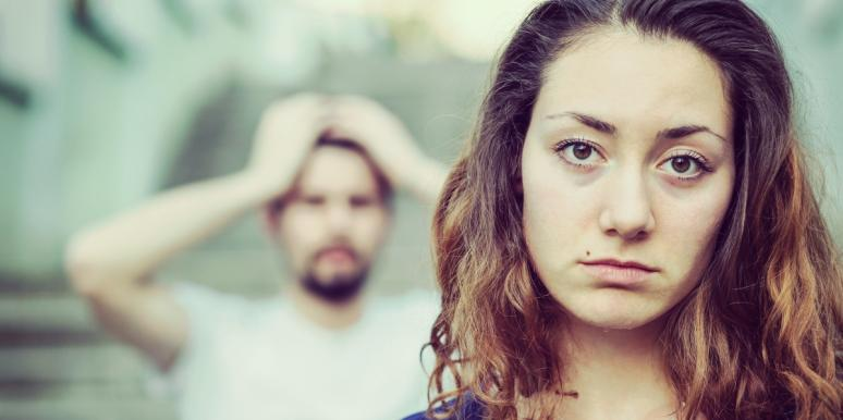 woman who needs to stop choosing the wrong guy