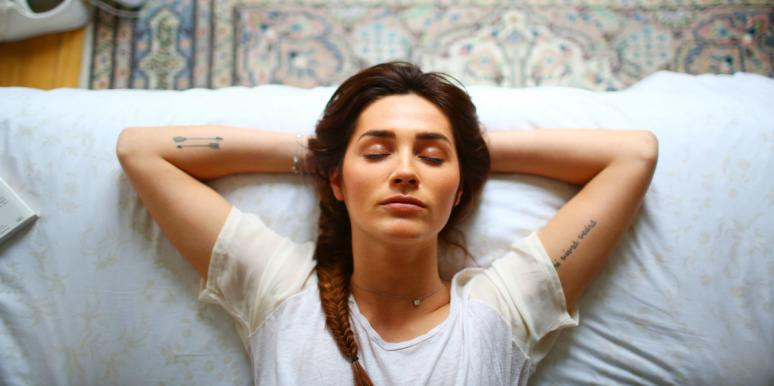 woman learning how to stop feeling guilty for self care