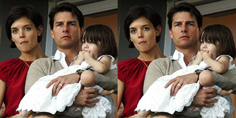 The Weird Reason Tom Cruise Didn't See His Daughter Suri For Six Years