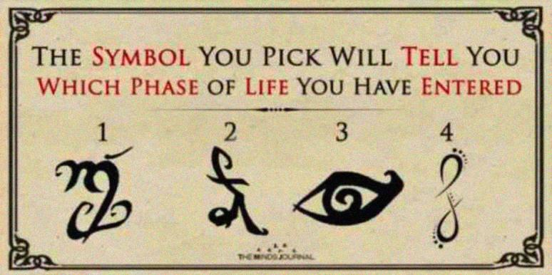 The Symbol You're Most Drawn To Reveals Which Phase Of Life You're In