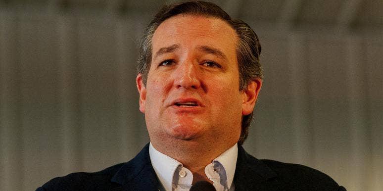 Republican Senator Ted Cruz of Texas