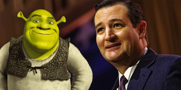 Shrek & Ted Cruz Reported For Texas Abortion Violations On Anonymous Anti-Abortion Whistleblower Site