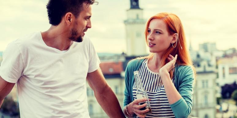 couple wondering how to tell someone you love them