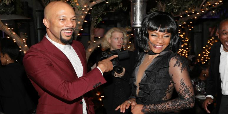 Tiffany Haddish And Common Sheltering In Place Together!?  [VIDEO]