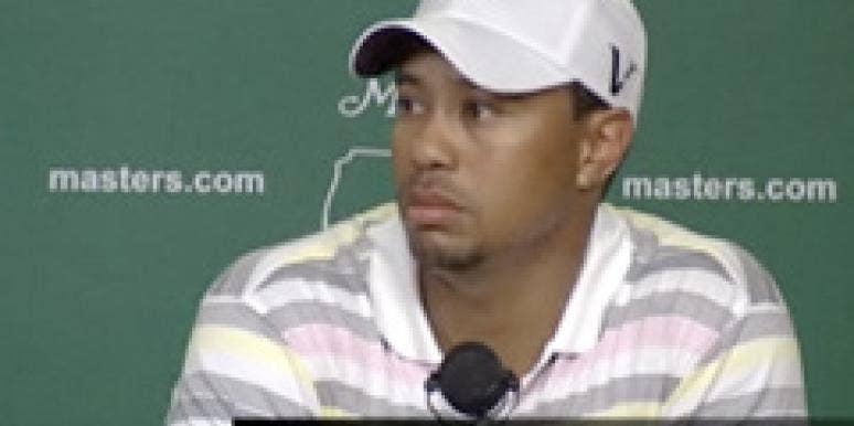 2010 Masters Golf Tournament tiger woods mistress