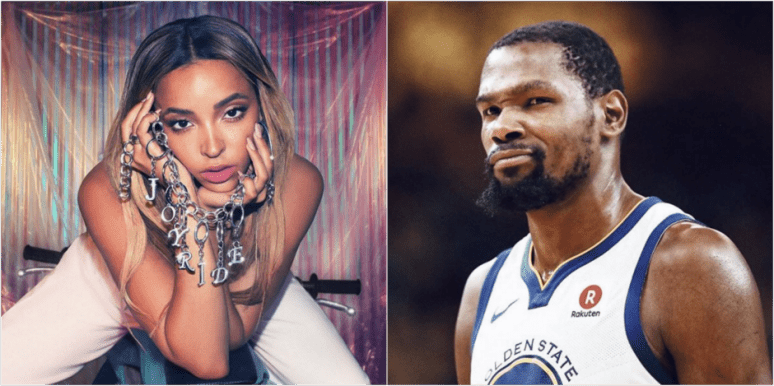 Tinashe and Kevin Durant dating rumors