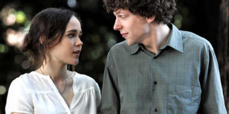 """Ellen Page and Jesse Eisenberg in Woody Allen's """"To Rome With Love."""""""